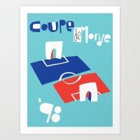 Coupe de Monde Art Print