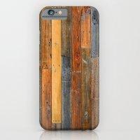 Jumbled Planks iPhone 6 Slim Case