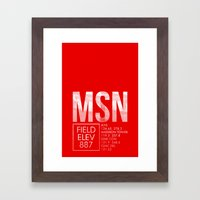 MSN Framed Art Print