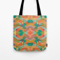Aztek Pattern Tote Bag