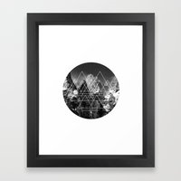 LF logo Framed Art Print