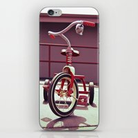 Tricycle Americana iPhone & iPod Skin