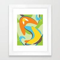 Boomerama Framed Art Print