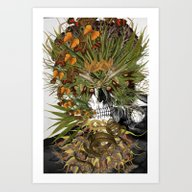 Art Print featuring Toxicity 1 - Collage Art… by Bedelgeuse