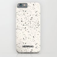 iPhone & iPod Case featuring Retro Speckle Print - Bone by MSTRPLN®
