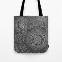 Mandala Tiled Tote Bag