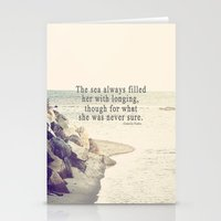 Filled With Longing Stationery Cards