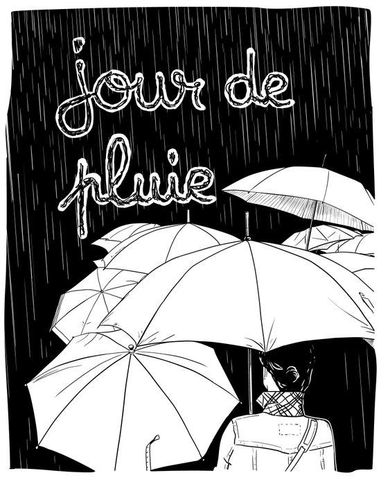 jour de pluie (rainy day) Art Print