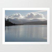 Loch Doon Art Print