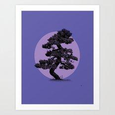 Lavender Night Art Print
