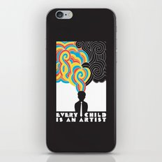 Every Child Is An Artist iPhone & iPod Skin