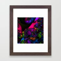 The Rainbow Carries Me Framed Art Print