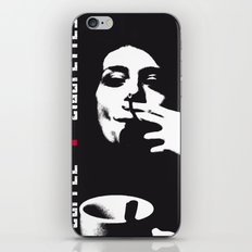 coffee + cigarettes iPhone & iPod Skin