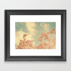 Spring Pink 02 Framed Art Print