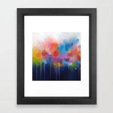 Spectrum II Framed Art Print