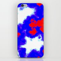 Patriotic Sky iPhone & iPod Skin