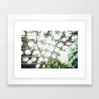 Heliconius sara vs. The Faux Rainforest Framed Art Print
