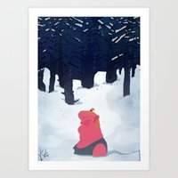 The Age Of Curious Art Print