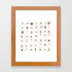 butts Framed Art Print