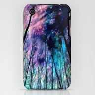 iPhone & iPod Case featuring Black Trees Colorful Spa… by 2sweet4words Designs