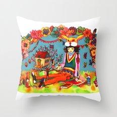 Hideaway Love Throw Pillow