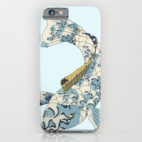 iPhone & iPod Case featuring Koi japanese fish number two by Dario Olibet