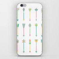Pastel Arrows iPhone & iPod Skin