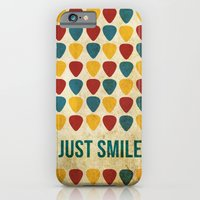 iPhone & iPod Case featuring Just Smile. by Danielle Podeszek
