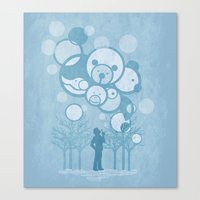 Don't Burst The Bubble Canvas Print