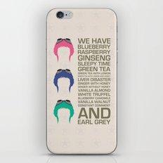 Myriad Of Teas iPhone & iPod Skin