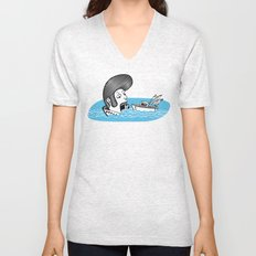 Elvis Eats Boats Unisex V-Neck