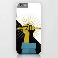 iPhone & iPod Case featuring Pencil Power by Buchino
