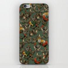 Kikiriki iPhone & iPod Skin