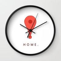 HOME. Wall Clock