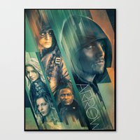 Arrow Canvas Print
