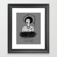 Lycca Framed Art Print