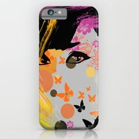 iPhone & iPod Case featuring Audrey again by Duru Eksioglu
