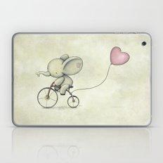 Cute Elephant Riding His… Laptop & iPad Skin