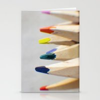 Pencils Photograph Stationery Cards