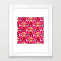 Jucy blossom Framed Art Print