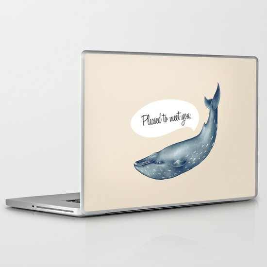 whale  Laptop & iPad Skin