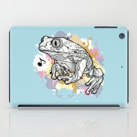 Melodic Frog iPad Case