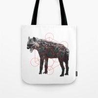 Sacred Hyena Tote Bag