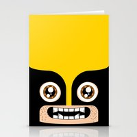 Adorable Wolverine Stationery Cards