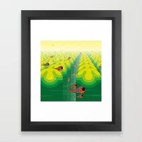 SF SolarBugs Framed Art Print