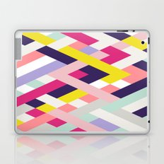 Smart Diagonals Blue Laptop & iPad Skin