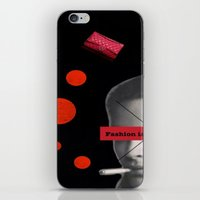 Fashion Is Not Real Life iPhone & iPod Skin