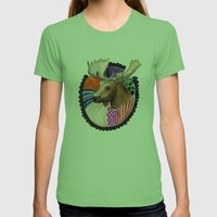 The Wild / Nr. 2 Womens Fitted Tee Grass SMALL