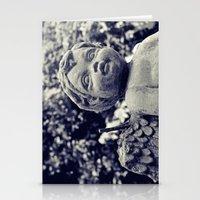 A cherub's soul Stationery Cards