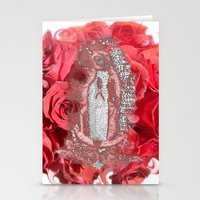 La Virgen de Guadalupe series: Glistening Goddess Stationery Cards